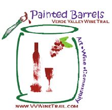 Verde Valley Painted Barrels - there are 40 wine barrels painted by local artists and displayed at local businesses throughout the Verde Valley.