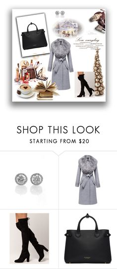"""""""my coat"""" by mersa-kudum ❤ liked on Polyvore featuring Sentaler and Burberry"""