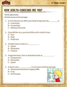 Printables Science Worksheet 6th Grade science sixth grade and on pinterest printable worksheet
