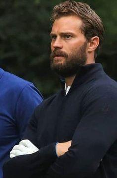 Jaime Dornan, Awesome Beards, Dakota Johnson, Perfect Man, Daddy, Actors, Sexy, People, It's Raining