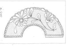 Bobbin Lace Patterns, Embroidery Patterns, Bobbin Lacemaking, Lace Art, Lace Jewelry, Lace Making, Lace Collar, Lace Design, Irish Crochet