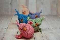 Ravelry: Wobbly Bobbly Chicks pattern by Sweet Bauer