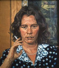 Lynda Morris by John Wonnacott, 1982-84