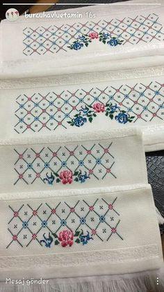 Анна's media content and analytics Cross Stitch Borders, Cross Stitch Flowers, Cross Stitch Designs, Cross Stitching, Cross Stitch Patterns, Embroidery Sampler, Cross Stitch Embroidery, Hand Embroidery, Embroidery Designs