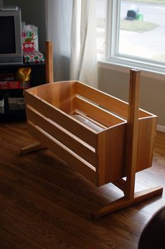 Custom Made Modern Cradle