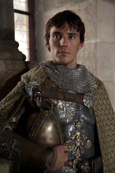 Ahh a knight in shining armour- Sam Claflin!