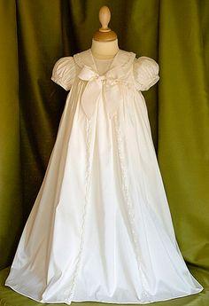 c2cb25f9554 Raphael Christening Baptism gown. Handmade in England