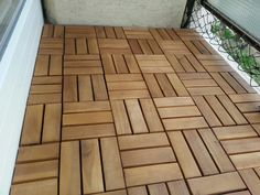 Pack of 9 Wooden Deck Tiles main product photo Outdoor Rooms, Outdoor Gardens, Outdoor Living, Outdoor Decor, Outdoor Ideas, Wood Deck Tiles, Wooden Decks, Lidl, Home Renovation