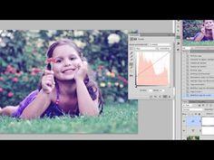 Efectos fotográficos con tres ajustes de capa - www.psdbox.es - YouTube