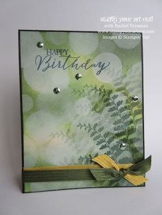 Click here to see step-by-step photos the process of the Bokeh technique (a card idea and a 12x12 spread idea, too)… #stampyourartout #stampinup - Stampin' Up!® - Stamp Your Art Out! www.stampyourartout.com