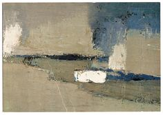 Nicolas De STAEL - Abstract Art - Ménerbes, 1954