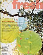 Paper Lanterns from Luna Bazaar in Better Homes and Gardens May 2013