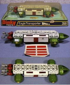 Space 1999 Eagle Transporter by Dinky Toys. One of my favorite toys when I was little