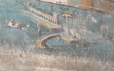 Landscapes from Pompeii or Herculaneum - Naples, Archaeological Museum