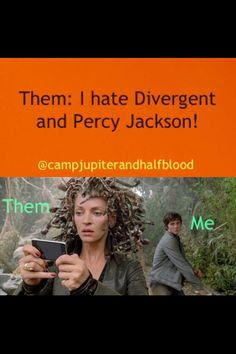 Yup (mainly the percy jackson, but still)