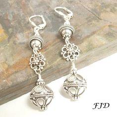 Bali Sterling Silver Earrings - 5 | Felicity Jewelry Designs, Handmade Jewelry, Fashion Jewelry