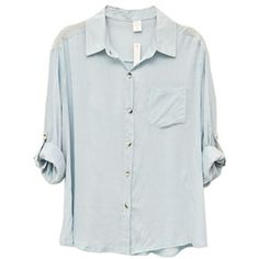 Boy Style Blue Shirt