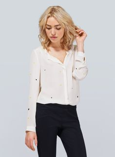 aritzia bergen blouse... perfect for work and play