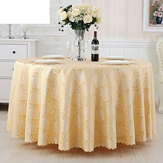 GXX Hotel tablecloth/ Hotel wedding table cloth/ oblong tablecloth/Banquet Restaurant club big round table tablecloth-B diameter280cm(110inch)