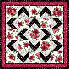 Walk About Quilt Pattern                                                       …