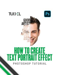 Text Portrait, Photoshop Course, Graphic Design Lessons, Photoshop Tutorial, Best Artist, Great Artists, Thoughts, Sayings, Learning