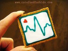EKG cookie