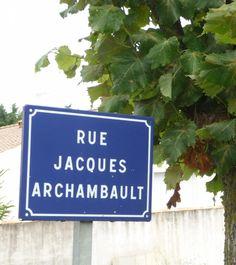 Rue Jacques-Archambault à Dompierre-sur-Mer