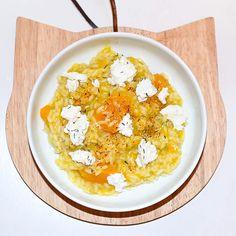 • R I S O T T O •   Risotto maison à la butternut et à la ricotta. #Recette #Veggie #Vegetarien #Risotto #Food
