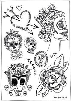 Weiteres - TATTOO YOU - Frau Ines Fake Tattoos - ein Designerstück von frauines bei DaWanda