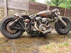 GasCap Motor's Blog: Curley's FL 1985 Bobber Via Cyclefools
