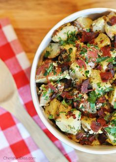 This tasty and tangy Grilled Red Potato Salad with a Creamy Mustard Dressing has a delicious grilled flavor that will have you coming back f...