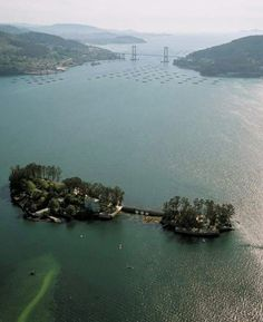 Isla San Simón.  Ría de Vigo
