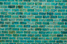 The Mosaic Turquoise tile is handcrafted using jewelry grade turquoise. The vast… Turquoise Tile, Turquoise Bathroom, Peacock Bathroom, Kingman Turquoise, Small Bathroom Paint, Basement Bathroom, Bathroom Ideas, Stone Mosaic, Mosaic Glass