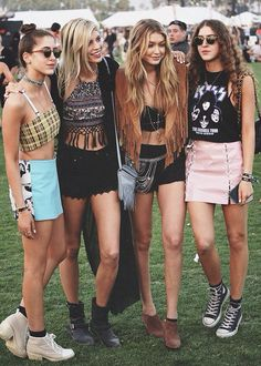 Coachella is this weekend, kicking off a season of amazing fashion inspiration! Stop by this weekend and find your own Coachella inspired (at Plato's Closet - Matthews, NC) Festival Looks, Festival Style, Festival Fashion, Coachella Festival, Festival Wear, Leeds Festival Outfits, Festival Trends, Psytrance Clothing, Fashion News