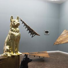 Don't miss The knife eats at home by at Stevenson The exhibition will be until Friday 15 July. South African Artists, Lion Sculpture, Friday, Statue, Instagram Posts, Sculptures, Sculpture