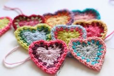 Anabelia craft design: 2015 news, blog changes and crochet hearts