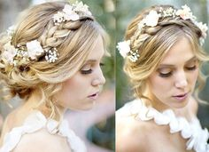 2014 Boho Wedding Hair Styles Ideas