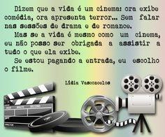 A VIDA É UM CINEMA.