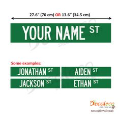 Hey, I found this really awesome Etsy listing at http://www.etsy.com/listing/120497218/free-shipping-medium-custom-street-name