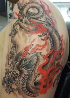 Japanese dragon - 70+ Awesome Tribal Tattoo Designs  <3 !
