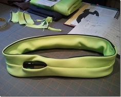DIY FlipBelt... use Spandex, Nylon, or Athletic Fabric. I think I will order one first then maybe attempt to make one!