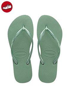 Havaianas Damen Flip Flops Top Tiras Grösse 41/42 EU (39/40 Brazilian) Indigo Blau Zehentrenner für Frauen 1H9FgBQ1P1