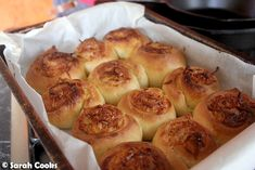 Kaya and coconut sticky buns. The softest, fluffiest bread dough, twirled around lashings of sweet sweet kaya and shredded coconut. Kaya Recipe, Milk Bun, Roasted Pineapple, Dough Ingredients, Danishes, Sticky Buns, Brunch Party, Shredded Coconut, Salted Butter