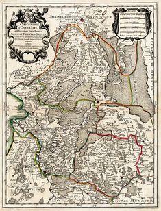 La Seigneurie d'Overijssel 1700 Sanson Jaillot