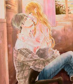 Boku ni Hana no Melancholy Anime Love Story, Manga Love, Manga Girl, Anime Art Girl, Manga Couple, Anime Love Couple, Manga Anime, Anime Guys, Anime Soul