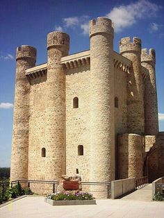 CASTLES OF SPAIN (2) - Castillo de Coyanza León
