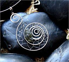 wire pendant spiral