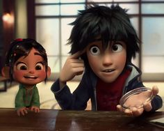 Vanellope and Hiro - Is it just me or would they make cute siblings?