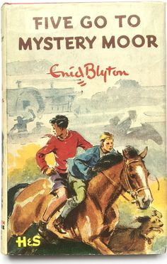 Famous Five books. read and reread all The Famous Five books as i was growing up! I thought this particular one Was really scary! Famous Five Books, The Famous Five, Comics Vintage, Vintage Children's Books, Vintage Kids, Enid Blyton Books, Hockey Sticks, Book Cover Art, Book Covers