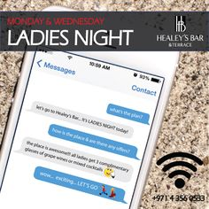 Did you know? We don't just have one, but TWO ladies nights in Healey's Bar every week! Click on the pin to find out more!